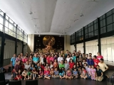 88 Visitors from Melaka in Kechara Forest Retreat, Wisdom Hall