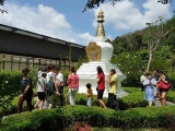 Many visited Kechara Forest Retreat during the long holiday break and visited the largest Dorje Shugden statue in the world.