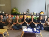 First Gyenze Retreat in Kechara Forest Retreat by KFR Team and guests!