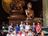 Visiting world largest Dorje Shugden Statue in the world in Kechara Forest Retreat by Pee Bee Chong