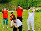 Recently in Kechara Forest Retreat - yes... it is Laughter Yoga!
