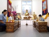 Urgent Puja for newborn baby - The Puja team is always ready to benefit others.    Many do not know that the puja team is always on standby to do puja, even in the middle of the night if there is an urgency that needs the blessing of the Protector, just like the request that we have receive a few hours ago to perform a Dorje Shugden puja for a newborn baby who is in life threatening situation. From Pastor Yek Yee, shared by Pastor Antoinette.