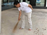 The Practice of Cleaning the Temple is very meritorious and helps to clear our delusions. Picture courtesy Cynthia Ng, shared by Pastor Antoinette.