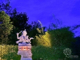Deepest homage to the Maha Bodhisattva Manjushri, the supreme being whose presence eradicates the conceptual need to self-satisfy but there is no satisfaction. ~ H.E. Tsem Tulku Rinpoche