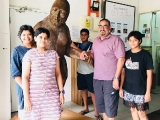 Have you seen Malaysia's largest Bigfoot in Bentong? Visit Bigfoot Universe at Jalan Ah Peng.