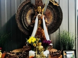 Medicine Buddha puja at Dukkar Apartment in Kechara Forest Retreat. Picture courtesy by Pastor Yek Yee, shared by Pastor Antoinette