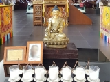 Kechara House Puja Team is scheduled to perform many pujas today at Wisdom Hall. Medicine Buddha (or Menlha) Puja is one of the most popular pujas requested by sponsors for the Medicine Buddhas' healing energies, blessings and protections.  Enquiries: Kechara House Front Desk 603 78033908 or 6012 9873908  tsemrinpoche.com dorjeshugden.org retreat.kechara.com vajrasecrets.com Picture credit Pastor Tat Ming Lim