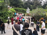 Pilgrimage day today in Kechara Forest Retreat ! A precious opportunity to be blessed by the Buddhas.
