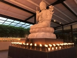 Ullambana candles offering to Lord Tsongkhapa in Kechara Forest Retreat, Bentong . Feel calm and blessed. tsemrinpoche.com dorjeshugden.org