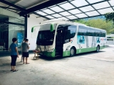 Recently in Kechara Forest Retreat, this bus was blessed and is now protected by the Three Jewels. - shared by Pastor Antoinette