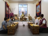 Dorje Shugden Puja able to clear all obstacles of daily life. Picture credit Cynthia Ng, shared by Pastor Antoinette