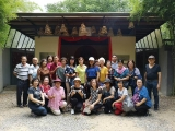 Recently this lovely group visited Kechara Forest Retreat and the Gyenze Chapel at the entrance to Kechara Forest Retreat, Bentong. Picture credit Cynthia Ng. Gyenze is the increase form of Dorje Shugden and the Gyenze Chapel is open daily 24/7. - shared by Pastor Antoinette