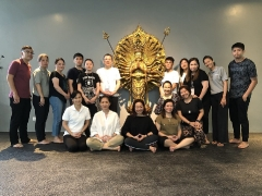 Group picture of the end of the Inner Peace Retreat, June 2019. More info: http://bit.ly/2GvGl7A