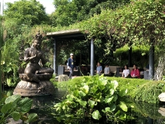 Inner Peace Retreat Day 1: Meditation in Nature next to the Dream Manjushri Learn more about the Dream Manjushri here: http://bit.ly/2FlkxL7