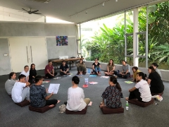 Inner Peace Retreat Day 2: Debrief & Closing More info: http://bit.ly/2GvGl7A