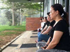 Inner Peace Retreat Day 2: Sunrise Meditation More info: http://bit.ly/2GvGl7A