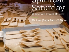 Join us this weekend, Saturday, 29. June for SPIRITUAL SATURDAY in Kechara Forest Retreat! From 9.00 am to 2.30 pm. Here is the programme: 1. 9.00 am - 10.45 am: Learn how to make Tibetan tea & khapse 2. 11.00 am - 12.30 pm: Help roll mantras for statue insertion 3. 12.30 pm - 2.30 pm: Lunch INTERESTED? To RSVP your place (and your meal!) contact us at least two days in advance. +6017 965 9484 (WhatsApp) retreat@kechara.com See you Saturday! More info: bit.ly/2YNyEQn Shared by Pastor Antoinette