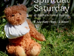 Join us this weekend for SPIRITUAL SATURDAY in Kechara Forest Retreat! SATURDAY, 6 JULY 9.00 am: Spring clean Tara's abode 11.00 am: Introductory CPR + emergency first aid 12.30 pm: Lunch INTERESTED? To RSVP your place (and your meal!), contact us: +6017 965 9484 (WhatsApp) retreat@kechara.com See all July activities: bit.ly/2FDtWh5