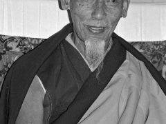 His Holiness Kyabje Zong Rinpoche with his beautiful smile