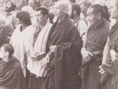 His Holiness Kyabje Zong Rinpoche taught all over the world including at Lama Yeshe's centres