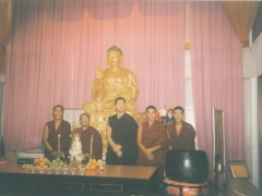 I went to many Mahayana Buddhist centres to give teachings. This is one of the many that I went to.