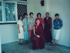 I met a lot of people during those initial first few years and I am truly grateful to many of them because they helped to sponsor Gaden Monastery