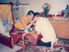 Before Kechara House was established, I performed many pujas and gave many Dharma teachings in the houses of my students and friends.