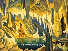 """Buddha, the Conqueror. From """"Banners of the East"""" series. 1925"""
