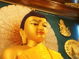Beautiful Buddha in the Bodhgaya enlightenment stupa