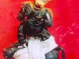 Ra Lotsawa\'s personal sacred image of Yamantaka Vajrabhairava. Said to be housed in Samye Monastery, Tibet.