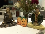 Halloween is my favorite holiday. Wild natural plants and flowers are my favorite offering. Buddha\'s teachings on meditation and Yidam practice bring the ultimate results and happiness. ~Tsem Rinpoche