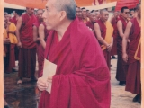 When the ban first came into place, the monks protested against the ban in Gaden Monastery. Samdong Rinpoche was there and saw the protests which later he and Tibetan leadership took fierce and quick actions to cut all protests and expel all monks who protested. There is no democracy. Dorje Shugden has been practiced by individual and khamtsen group monks in Sera, Drepung and Gaden for four hundred years and suddenly it is not allowed. No religious freedom. What the Tibetan leadership wants, they will impose their will. If you disobey, protest or not agree, you will be banished or silenced.