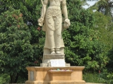 Beautiful Avalokitesvara image in the Kelaniya Temple grounds in Sri Lanka. A place to visit!