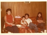 The young Tsem Rinpoche with his parents Boris and Dana Bugayeff. And on the extreme right is Tsem Rinpoche\'s cousin Toktun Gugajew. This was in Howell, New Jersey, USA