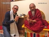 Martin meeting with the well known strong and devoted Dorje Shugden activist and scholar Geshe Konchok Gyeltsen lak. Geshe lak was very happy to meet Martin and shared so much wonderful information. Beautiful meeting.