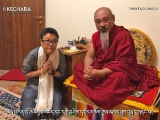 Beng Kooi meeting with the scholar and teacher Geshe Konchok Gyeltsen lak. Geshe Konchok Gyeltsen has been very active and you can see his youtubes in Tibetan speaking about the benefits of Dorje Shugden practice. He is a direct student of Trijang Rinpoche and Zong Rinpoche.
