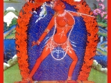 Beautiful Vajra Yogini print.