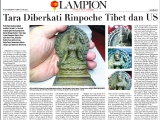 This incredible White Tara was discovered in Indonesia. It is said to be 800 years old and made by Nagarjuna. A local person Mr. Supriyono dreamed of a bluish red dragon surrounding the village and splashing down into the well before finding Her. This beautiful White Tara was discovered in Indonesia. See video: - https://www.youtube.com/watch?v=96dW0Ms1oR0&feature=youtu.be