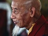 Beautiful picture of His Holiness Kyabje Zong Rinpoche.