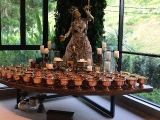 Tsem Rinpoche\'s private quarters has such a beautiful shrine for you to view and be blessed:  https://www.youtube.com/watch?v=LPAfpMoN2bA