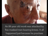 This eldery and innocent monk was brutally attacked, find out why. Shocking- http://www.tsemrinpoche.com/?p=163953
