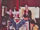 Their Holinesses Kyabje Trijang Rinpoche and Kyabje Zong Rinpoche