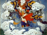 Beautiful Dorje Yudroma protector. A gentle Goddess I\'ve had the pleasure to meet via her oracle.