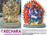 Kechara Saraswati Arts (KSA) offers a comprehensive statue and tsa tsa painting service. We are able to paint both the face and body, using traditional Tibetan techniques and materials.