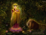 The Magnificent Standing Dorje Shugden -