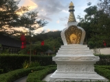 Sacred Vajra Yogini stupa at Kechara Forest Retreat-Malaysia