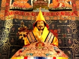 A special prayer on Tibet\'s Saint Tulku Drakpa Gyeltsen to calm the mind daily. This short prayer was compassionately composed by His Holiness the 4th Panchen Lama of the great Tashilunpo Monastery. - 