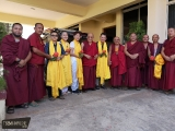 Kechara visits Shar Gaden Monastery in South India-  https://bit.ly/2VozDp4