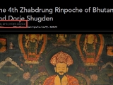 As of April 9, 2019 there are over 240k views on this blog post regarding the relationship between Bhutan\'s Highest lama Zhabdrung Rinpoche & Dorje Shugden.- https://bit.ly/2PrE6Ui