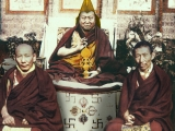 Beautiful picture. Rare. Three holy beings.